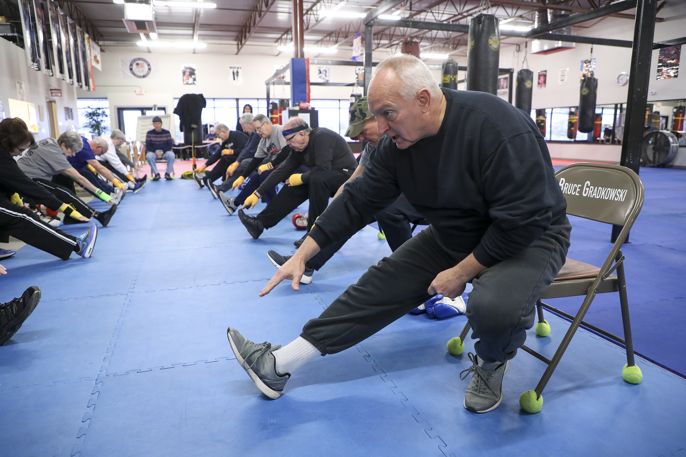 Toledoans 'beating' Parkinson's through local boxing program ...