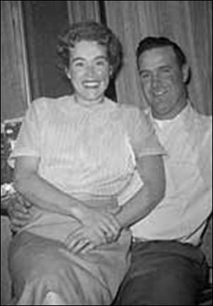 Marilyn and Jack Miller in a snapshot before she was stricken with beryllium disease.