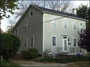 Records say 208 Elizabeth in Maumee was built in 1827.