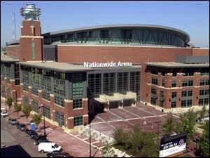 Nationwide Arena, which seats 18,136 and cost $150 million, is known as the Camden Yards of hockey.
