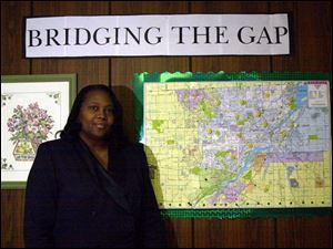 The Rev. Francine D. Brown is working to bridge the gap between government and area faith-based organizations.