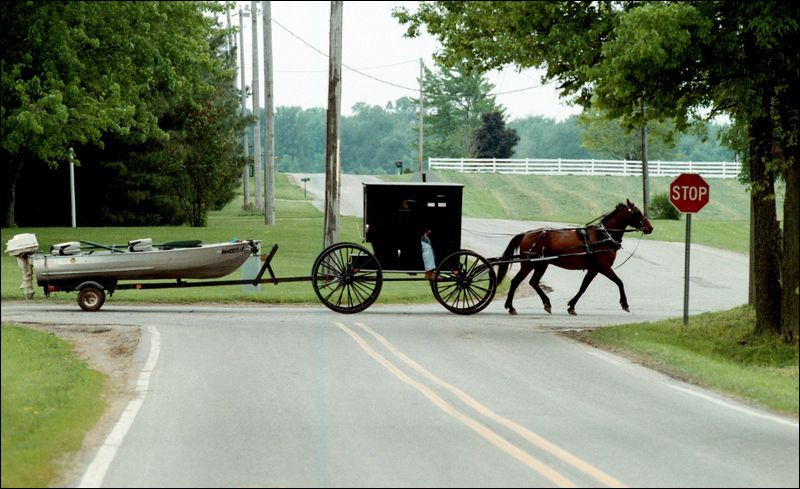 Amish In An English World Toledo Blade