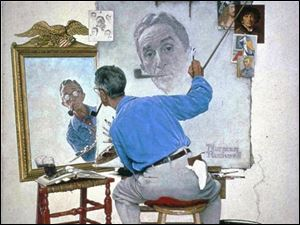 Norman Rockwell paintings are another guilty pleasure.