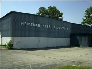 A former steel factory in North Toledo has been empty for years.