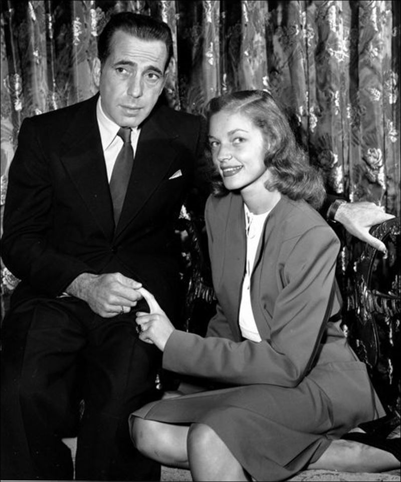 Bogart bacall said i do 39 at what is now an ohio state for Lauren bacall married to humphrey bogart