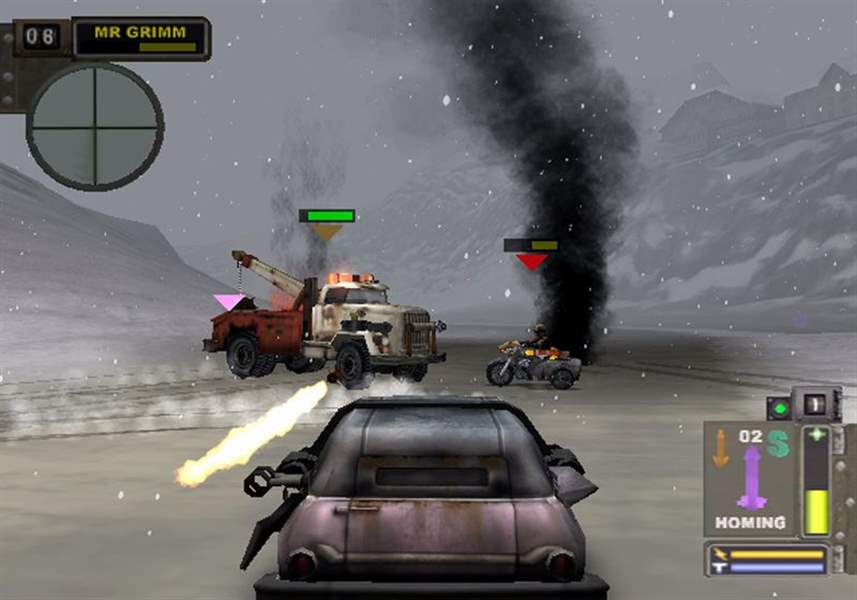 twisted metal black is intense addictive the blade
