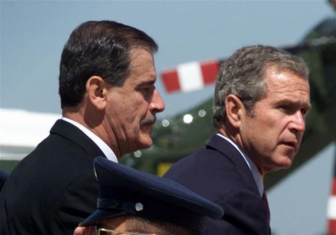 Presidents Bush, Fox arrive in Toledo | Toledo Blade