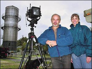 Bruce Selyem and his wife, Barbara, arrived in Elmore only to find the grain elevator he sought had been torn down.