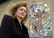 Free-to-glorify-God-Creator-of-religious-murals-fled-communism