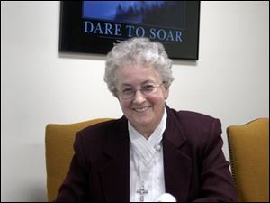 Sister Mary Carol Gregory will remain the academy's president and will be principal until school's end.