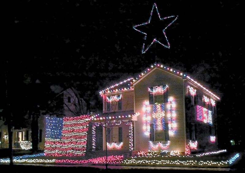 A red, white and blue Christmas - The Blade
