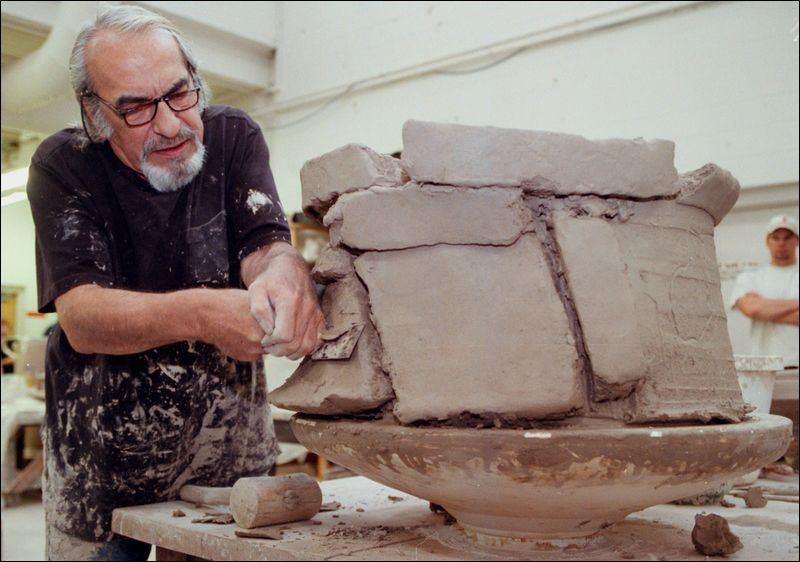 Potter Connected Art And Ceramics Toledo Blade
