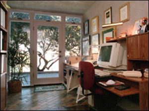 With more than half of the country-s work force telecommuting, home offices are no longer a luxury, but a necessity.