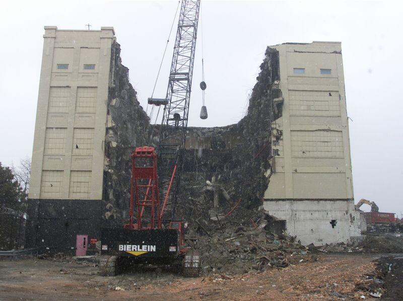 building demolition with wrecking ball wwwpixsharkcom