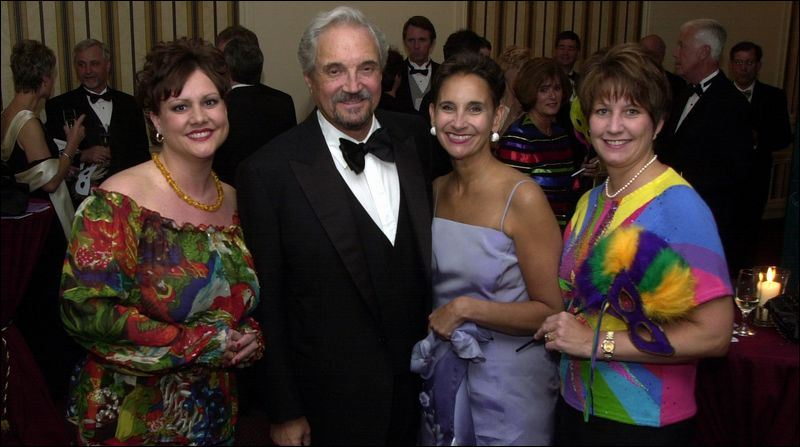 ORBITING A STAR: Hal Linden enjoys the company of, from left, Abbey ...