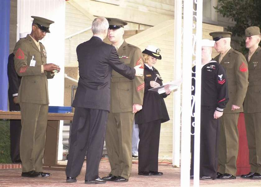 Medal-to-go-to-Marine-for-heroics-during-9-11-2