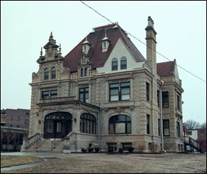 The Bartley Mansion's rehabilitation was made possible, in part, by federal tax credits.