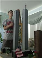 Teen-constructs-WTC-site-model-of-strong-towers-before-attacks
