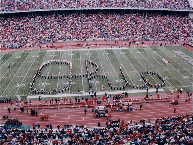 Toledo tuba player to perform script he always wanted: O-h-i-o '‍Script Ohio' has been a tradition at Ohio State University football games for years. But other traditions of a sexual nature are unacceptable.