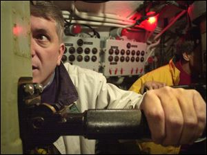 Curator Paul Farace has been fascinated by the USS Cod since he first visited it with his father at the age of 8.