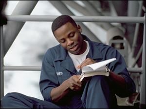 Derek Luke stars as an unstable sailor with a rough past.