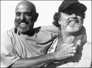 The late poet Shel Silverstein, left, and singer-songwriter Pat Dailey were friends and collaborators.