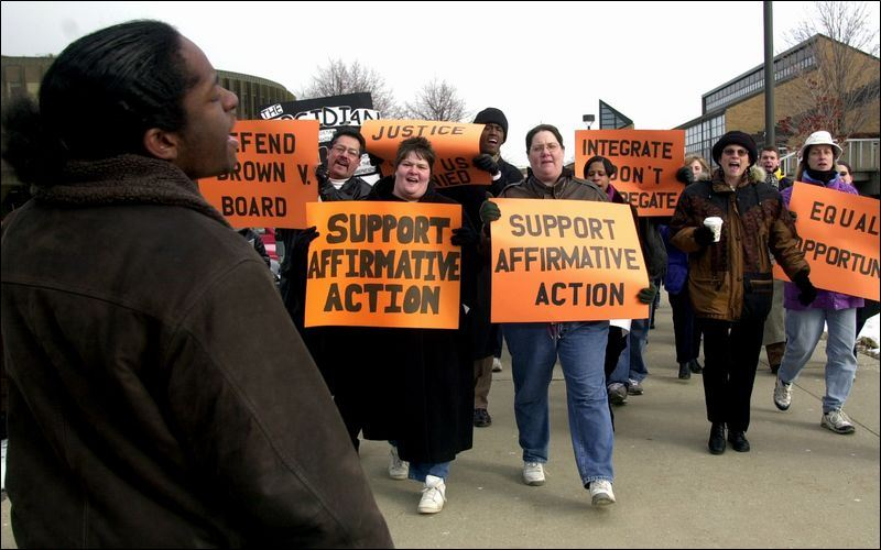 Colleges and Affirmative Action