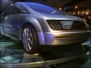 The Hy-Wire is a fuel-cell concept from GM, which is optimistic about the technology.
