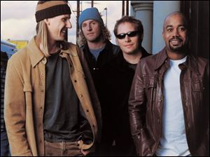 Hootie & the Blowfish have kept a low profile during the last four years, but they have toured.