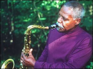 Jazz saxophonist David `Fathead' Newman performs tomorrow at Murphy's Place.