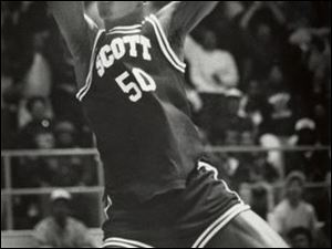"Anthony ""Scoop"" Williams led Scott to the 1990 title. He played at the University of Toledo."