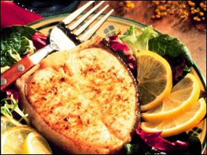 Make your own seasoning mix for Cajun-style Broiled Halibut.