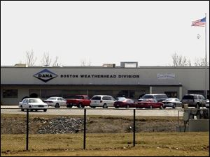 Dana agreed last year to sell its Boston Weatherhead industrial hose and fitting operations.