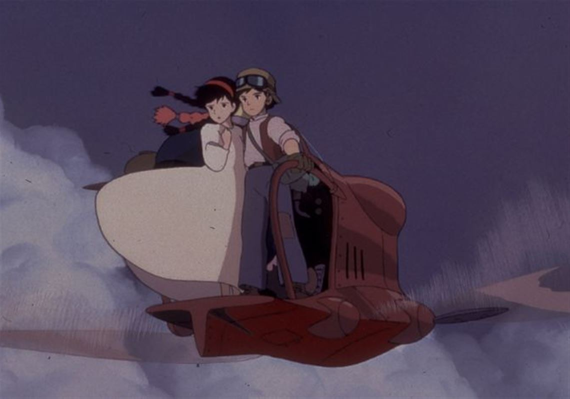 Castle in the sky is one of three new two disc dvd editions of hayao 1 animation classics among treasures from japan