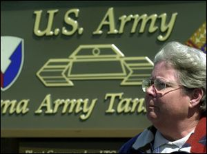 Teresa Adams, a facility engineer at the Lima Army Tank Plant, said many of her co-workers lost sleep in the initial stages of Operation Iraqi Freedom.
