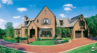 Popular Home Styles brick ideal for recreating many architectural period homes - the blade