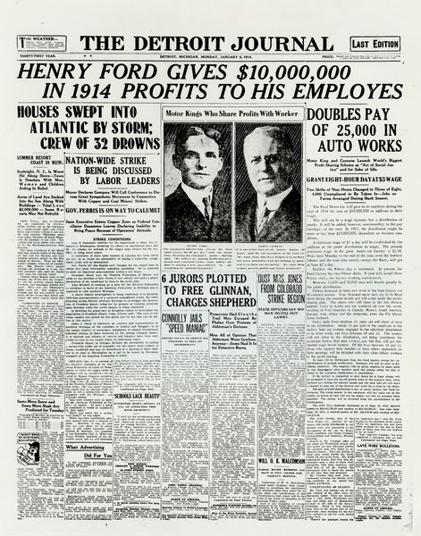 henry ford research papers