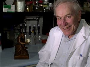 Dr. Morris Goodman, one of the first researchers to note the close genetic relationship between humans and chimps, proposes they be in the same genus.