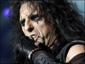 Alice Cooper will look much the same as always for his Toledo concert, but he says the show's theatrics will be toned down a bit.