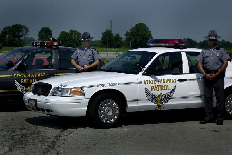 Troopers hope cars 39 paint job arrests attention of drivers the blade - Chp call log paint ...