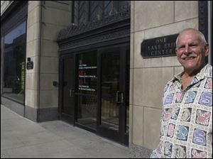 Lloyd Colenback, former owner of One Lake Erie Center, began his push for a revitalized downtown in the late 1970s. He now lives on Social Security and owes $1.5 million in taxes.