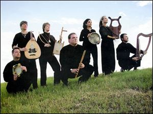 SAVAE, the San Antonio Vocal Arts Ensemble, plays the music of 540 B.C. Jerusalem using ancient instruments.