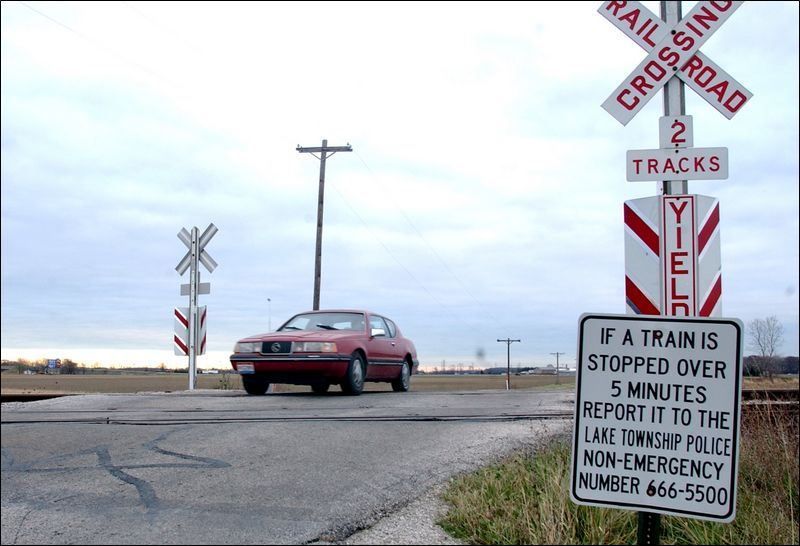 More rail crossings to have lights gates toledo blade
