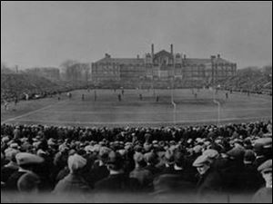 When Waite played at Scott in 1923, 26,000 attended the game - and $20,000 was returned to those who could not be accommodated.