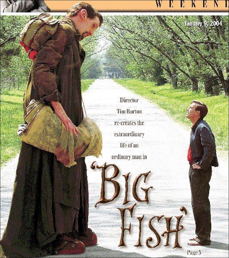 movie review big fish toledo blade