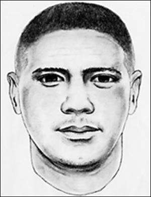 The robber was described as Hispanic, 25 years old, 5 feet, 7 inches tall, and weighing 160 pounds.