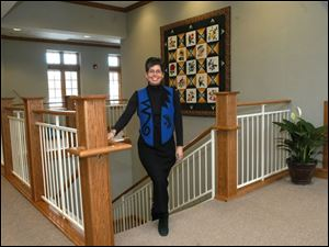 Judy Seibenick, executive director of Hospice of Northwest Ohio, said the new facility has 'a view from every pillow.'
