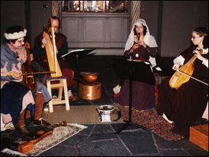 The Toledo-based medieval music ensemble Jubilatores.