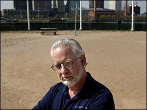 Mike Snyder used to run the riverfront volleyball courts.