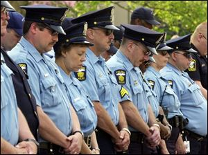 Law enforcement officers remember 62 colleagues who were killed in the line of duty.